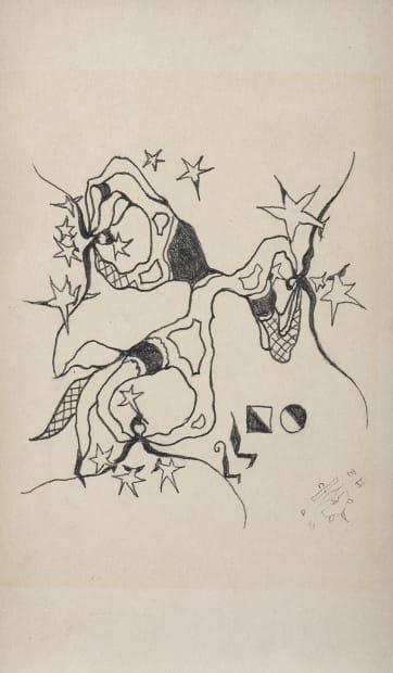 Les seins étoilés n°2, circa 1958