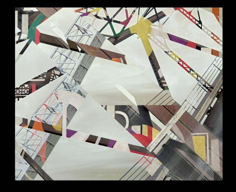 """Stéphane Couturier, Série """"Les nouveaux Constructeurs"""" Sète - Pont Sadi-Carnot n°3, 2018"""