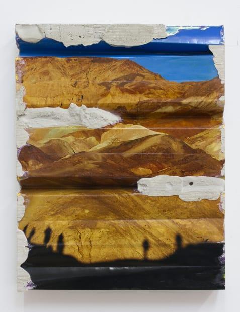 Artist's Palette Concrete Fold, 2020