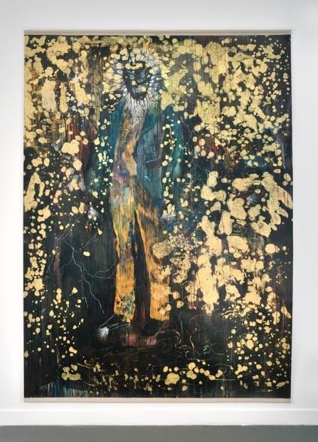 Hélène DELPRAT Le portrait corrompu Peinture 250 x 210 cm 98,4 x 82,7 in