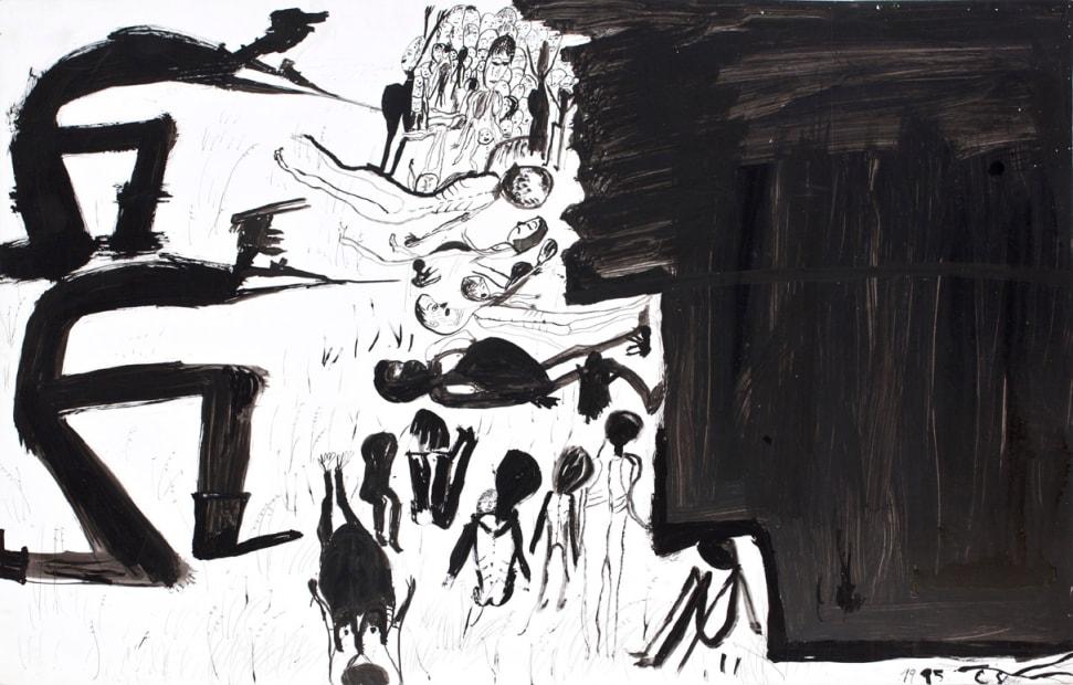 Sans titre ( Bergen-Belsen, ref 510), 1995