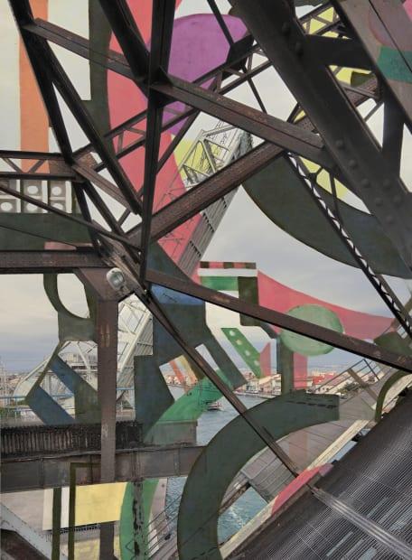 """Stéphane Couturier, Série """"Les nouveaux Constructeurs"""" Sète - Pont Sadi-Carnot n°2, 2018"""