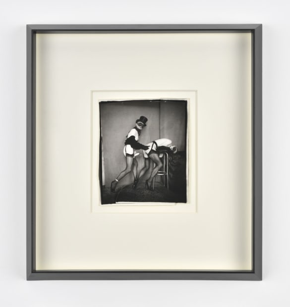 Pierre Molinier, Mandrake se régale - collage original finalisé, 1968