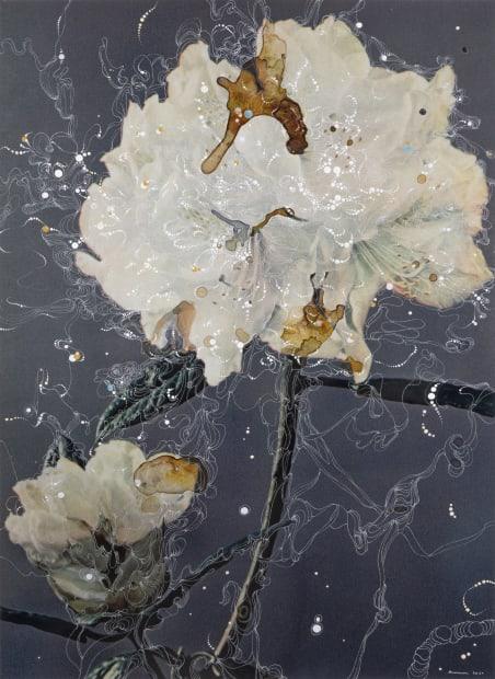 Rhododendron Hybrid Kopenhagen Prova, 2020