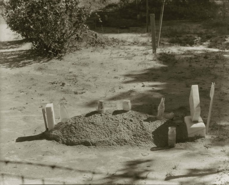Child's Grave, Hale County, Alabama, 1936