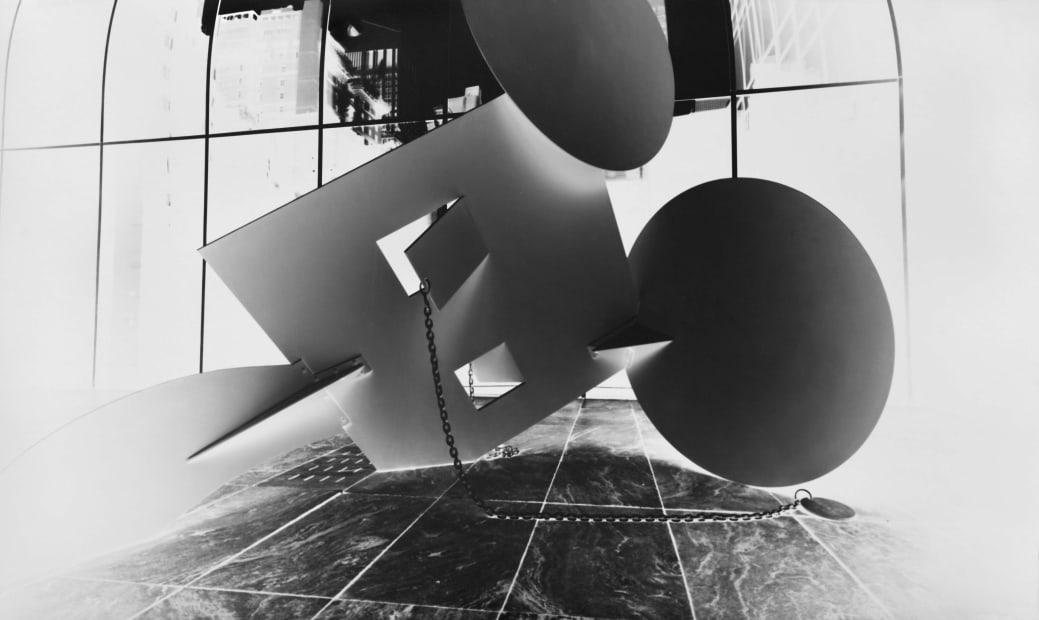 Claes Oldenburg, Geometric Mouse, Variation I, Scale A: October 15, 2013