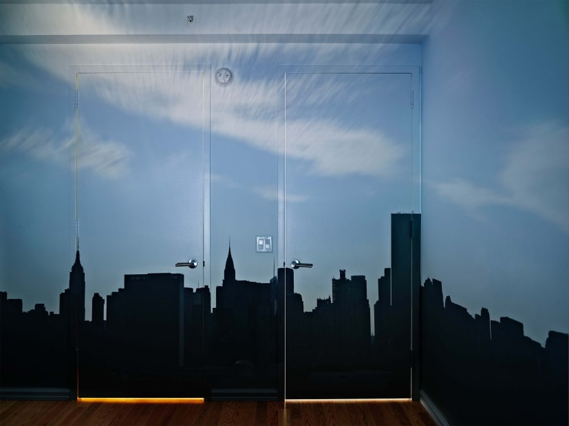 Camera Obscura: Late Afternoon View of the East Side of Midtown Manhattan, 2014