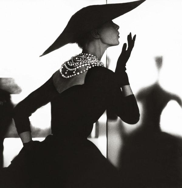 Blowing Kiss, Barbara Mullen, New York, Harper's Bazaar, c. 1958