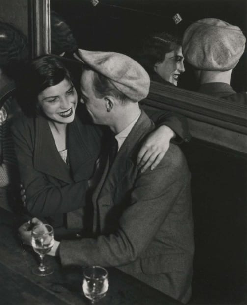 Couple at the Bal des Quatre Saisons, Rue de Lappe, 1933