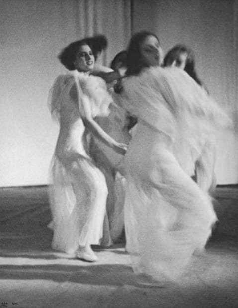 Four Dancers in the Ballet Errante, Paris, 1933
