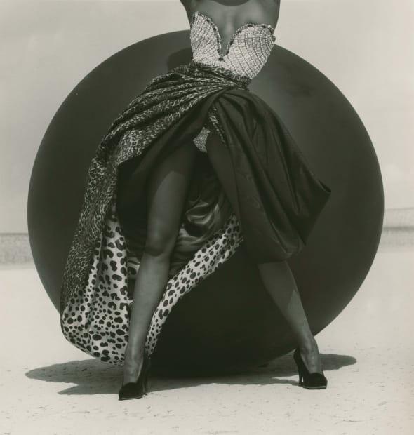 Naomi Campbell - Versace, El Mirage, 1990