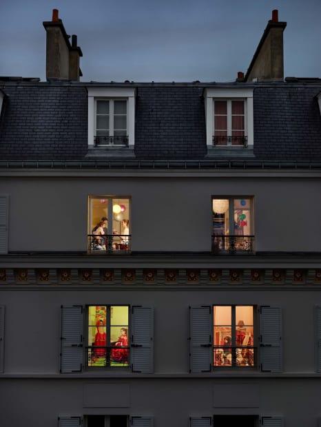 Rue Lemercier, Paris, 17e, le 17 novembre, 2013