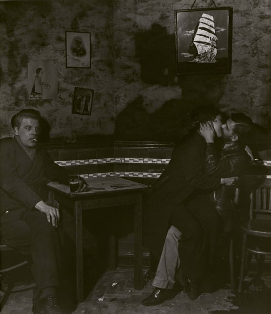 In the Public Bar at Charlie Brown's, Limehouse, c. 1942