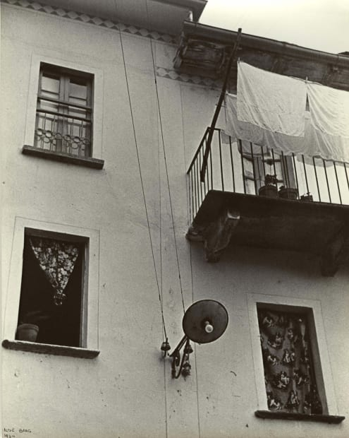 Windows, Balcony, Laundry, Cureglia, Switzerland, 1934