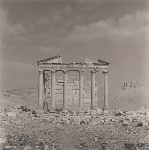 [Syria/Jordan/Turkey #01] Temple, Palmyra, Syria, 1995