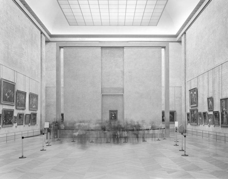 La Salle des États, Le Louvre, 2008
