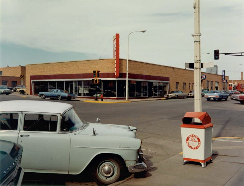 Intersection: Main Street and Second Avenue, Valley City, North Dakota, July 12, 1973