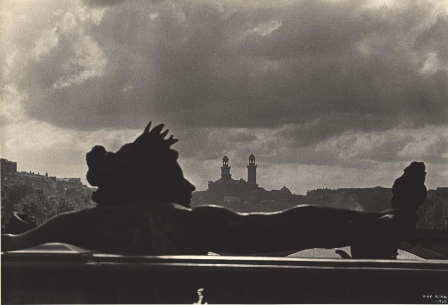 Pont Alexandre III with View of Trocadero, Paris, 1935