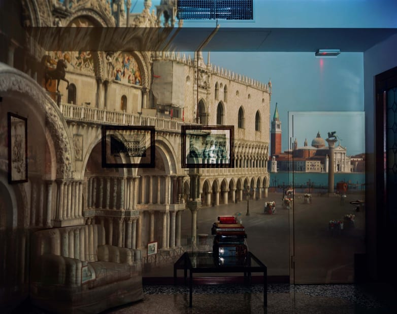 Upright Camera Obscura: The Piazzetta San Marco Looking Southeast in Office, Venice, 2007
