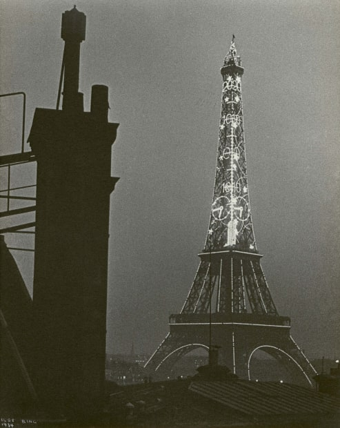 Eiffel Tower at Night, 1934