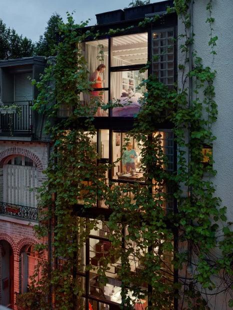 Villa Santos-Dumont, Paris, 15e, le 20 mai, 2013