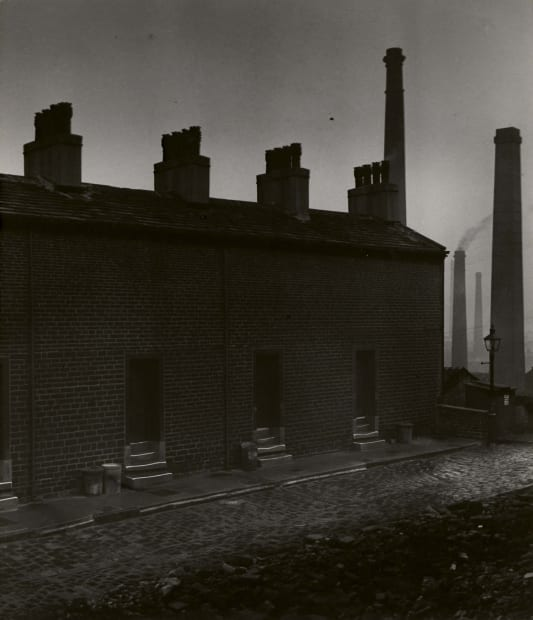 Coal-Miners' Houses Without Windows to the Street, 1937