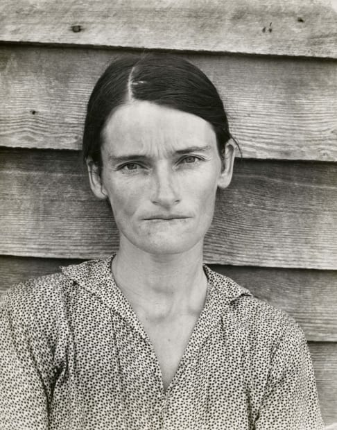Allie Mae Burroughs, Wife of Cotton Sharecropper, Hale County, Alabama, 1936