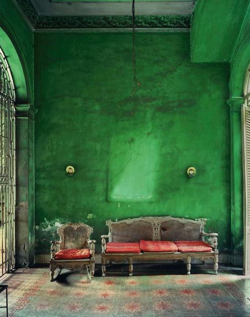 Green Interior, Havana, 2002