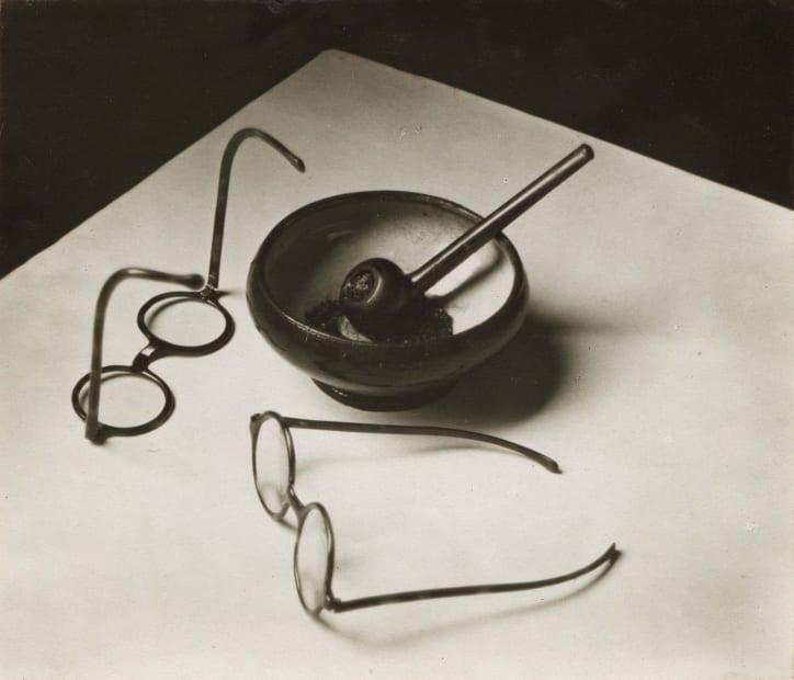 Mondrian's Glasses and Pipe, Paris, 1926