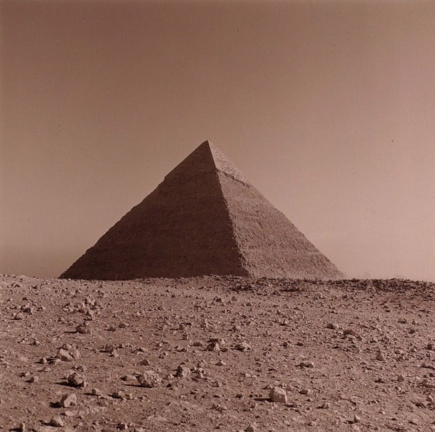 [Africa #53] Chephren, Giza, Cairo, Egypt, 1997