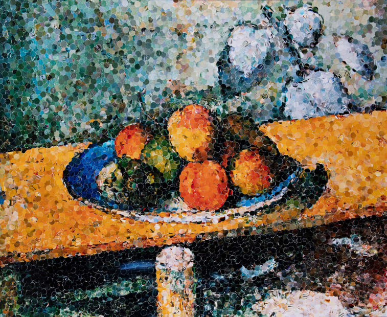 Apples, Peaches, Pears and Grapes, After Cezanne, 2003