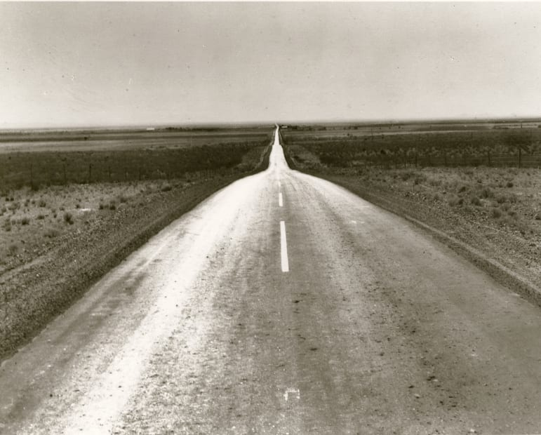 The Road West, New Mexico, 1938