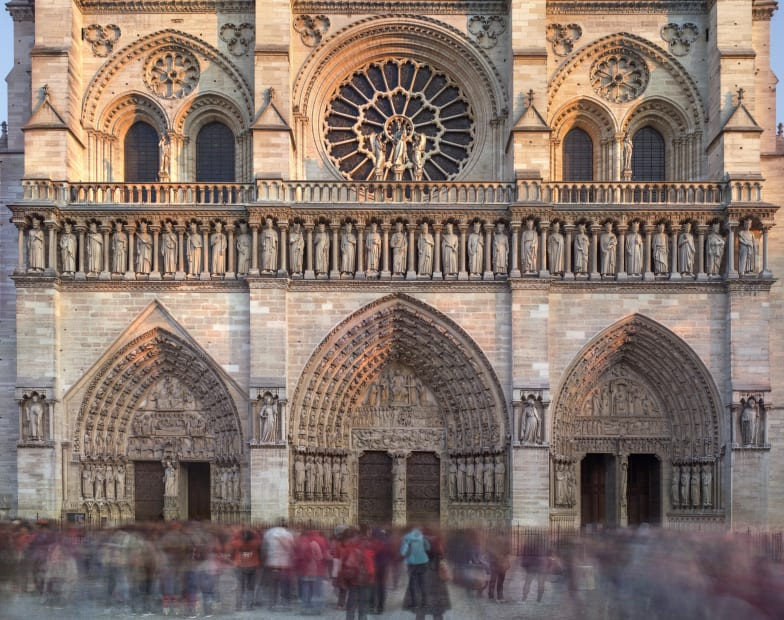 Notre Dame de Paris, November, 2018