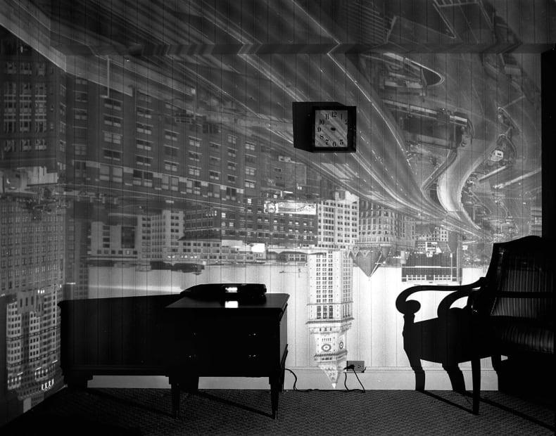 Camera Obscura: Boston's Old Custom House in Hotel Room, 1999