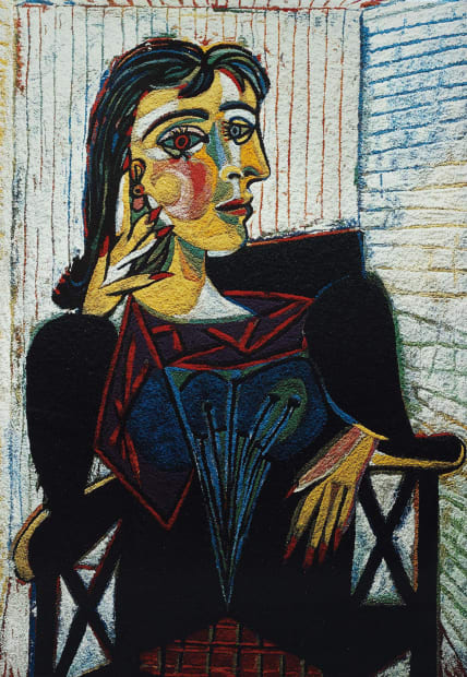 Dora Maar, After Picasso, 2007