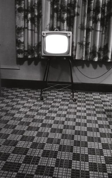 Motel room, Texas, 1962