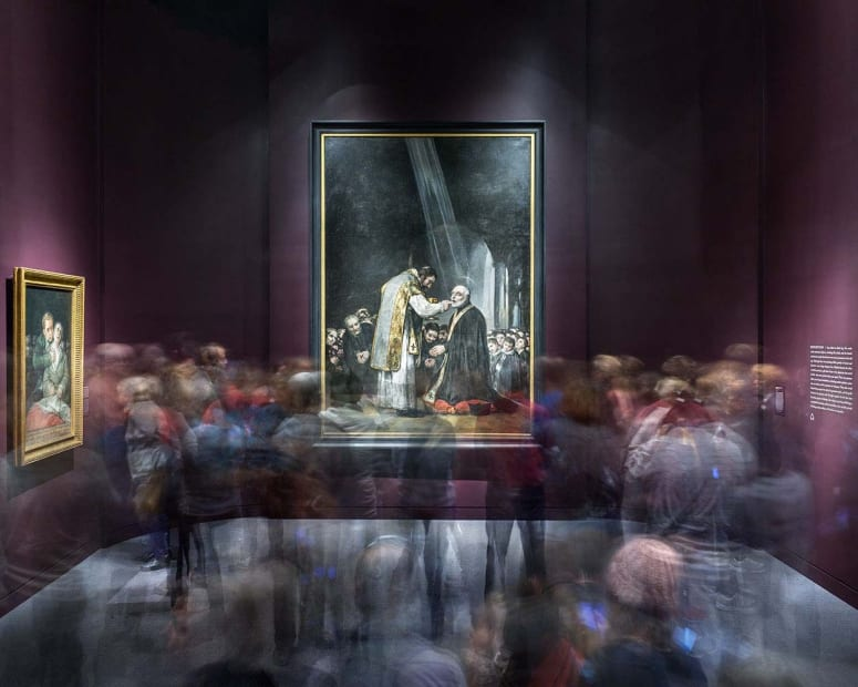 Goya's Last Communion of Saint Joseph of Calasanz, Museum of Fine Arts Boston, 2014