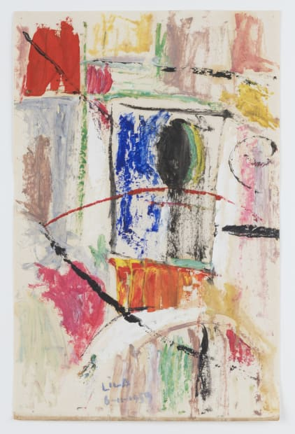 Juego con líneas y colores, 1959