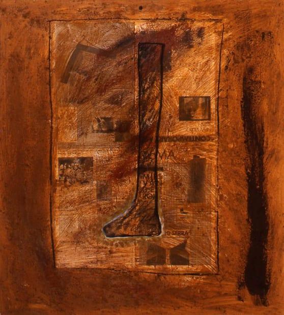 El Cimarrón Meets Richard Serra, 1986