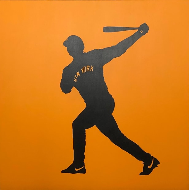 A-Rod, Three of Thirteen (orange), 2007