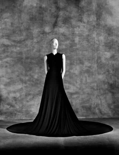 Evita's Dress by Argentine Designer Bernarda: designed for her official visit in 1947 to the Pope Pio XII at the Vatican, 2003
