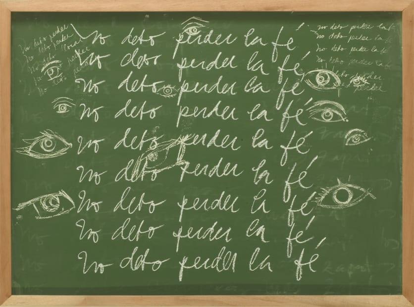 From the Pensum series: No debo perder la fe, 2011