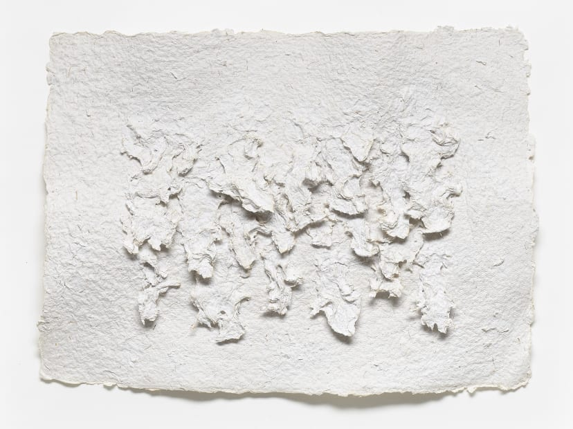 Untitled Relief into Handmade Paper 13, 1988