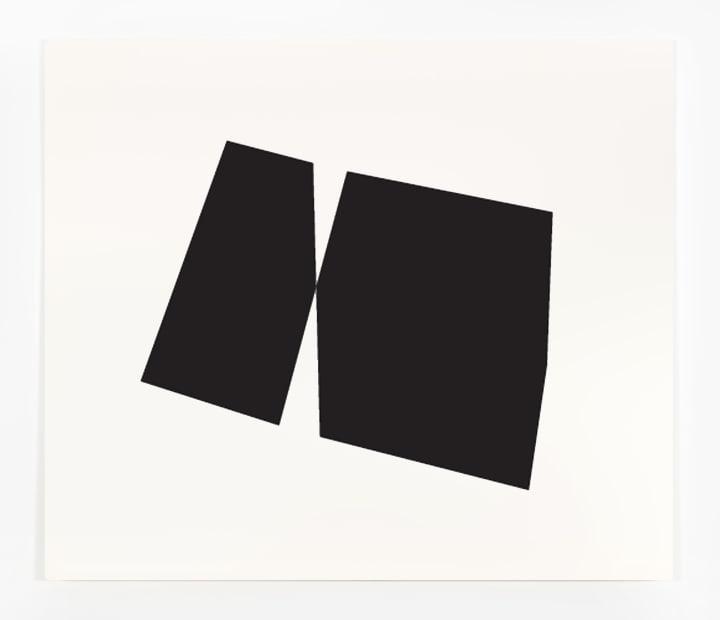 Joseph La Piana, Black Subfractal Painting 3, 2017