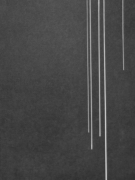 Joseph La Piana, Black Tension Drawing I, 2014