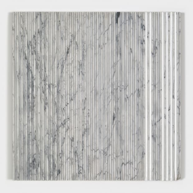 Joseph La Piana, Corrugated Carrara Marble 6, 2015
