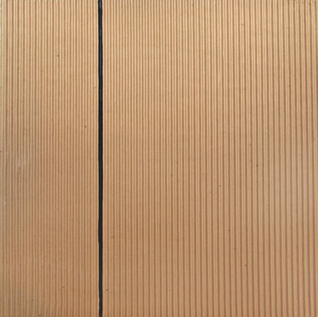 Joseph La Piana, Corrugated Painting II, 2014