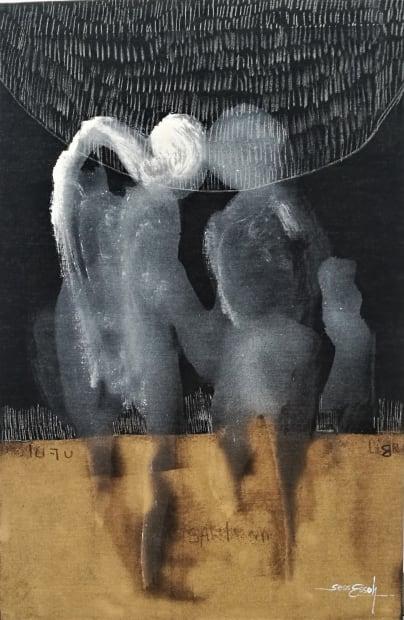 Essoh Sess, En quête de lumière 1, 2020
