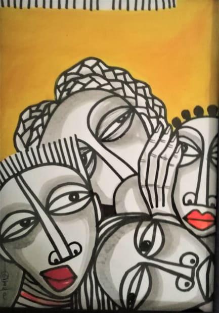 Obou Gbais, Ma famille 8, 2019