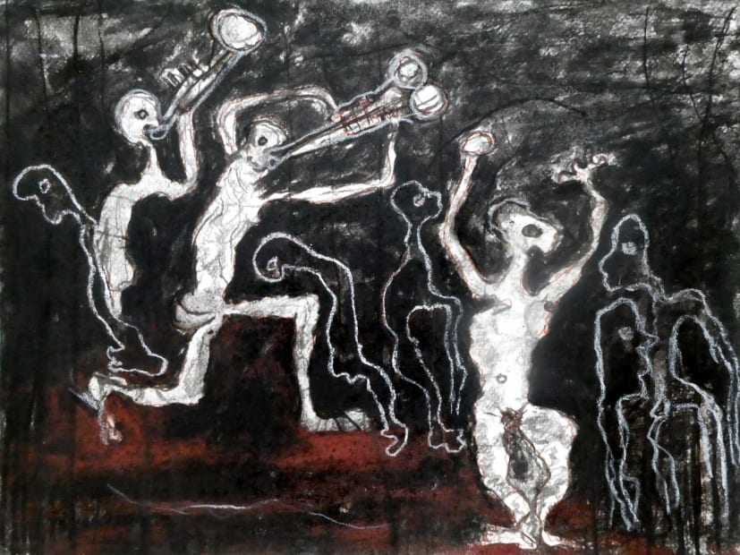 Rodrigue Obodjé, Ahoué Night 2, 2019
